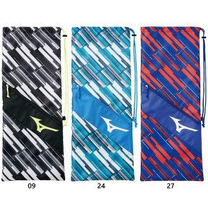 メンズ レディース ラケットバッグ バッグ 鞄 総柄 テニス ソフトテニス 2本入れ ミズノ Mizuno 63JD0504