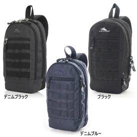メンズ レディース ローナン スリングバッグ ROWNAN SLING BAG ショルダーバッグ 肩掛け 鞄 アウトドア カジュアル フェス キャンプ 6L ハイシェラ High Sierra
