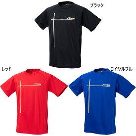 メンズ レディース ファイテンコラボシャツ COLLABO SHIRT WITH PHITEN 卓球ウェア トップス 半袖Tシャツ スティガ STIGA 1854-4711 1854-4866 1854-5655