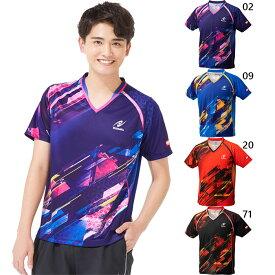 メンズ レディース ジュニア スカイトップシャツ SKYTOP SHIRT 卓球ウェア ユニフォーム トップス 半袖 Vネック ニッタク Nittaku NW-2202