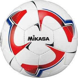 メンズ レディース サッカー4号球 検定球 赤青 サッカーボール 小学生向け ミカサ MIKASA SVC40VWRBL