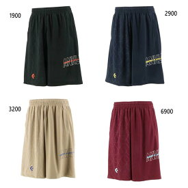 メンズ プラクティスパンツ ポケット付き バスケットボールウェア バスパン ボトムス コンバース CONVERSE CB212862