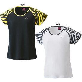 レディース ドライTシャツ テニス バドミントンウェア トップス 半袖Tシャツ ヨネックス YONEX 16519