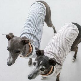 【犬 服】【ドッグウェア】ボーダーニットタンク犬服 おしゃれ シャツ 日本製 シンプル いぬ 洋服 ウェア ドッグ