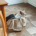 【犬キャリーバッグ】犬用スクエアトートMサイズ【キャリーバックcarrybagfreestitch】