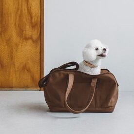 【犬 キャリー】スクエア トート キャンバス ソリッド M サイズ犬 バッグ キャリー ペット 犬用 バック 小型犬 中型犬 おしゃれ シンプル トイプードル ジャック 防災 電車 日本製 ドッグ バッグ クレート 旅行 公共機関 多頭 キャバリア