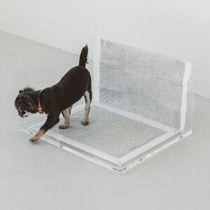【訳あり】オリジナル アクリル トイレ トレイ サイドウォール S ロング 犬