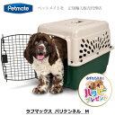 キャリーケース クレート ハウス 中型犬 ペットメイト ラフマックス バリケンネル M オフホワイト/グリーン 20-30 lbs (9.0-13.6 Kg) バリケン 200 【Petmate正規代理店】