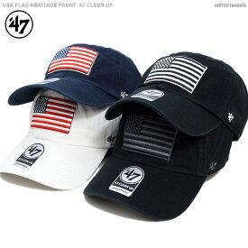 47 Brand キャップ【 フォーティセブン キャップ 】USA FLAG HERITAGE FRONT '47 CLEEN UP / 47 Brand (47ブランド) バックベルト/あす楽対応/