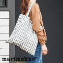 【正規販売店】marimekko Tote Bag Pikkuruusu (マリメッコ トートバッグ ピックルース)