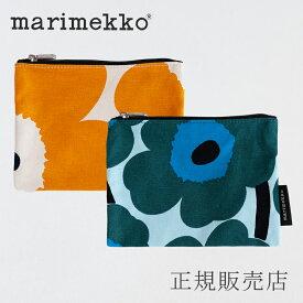 マリメッコ Rosina マチなしポーチ(marimekko)