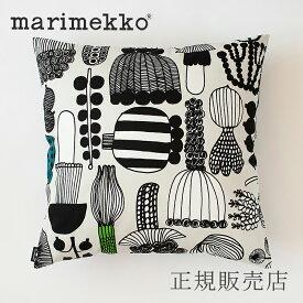 マリメッコ クッションカバー 45×45cm(marimekko)プータルフリンパルハート グレー