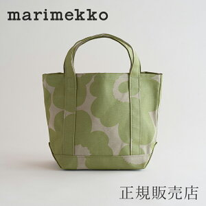 【SALE 20%OFF】【正規販売店】マリメッコ トートバッグ セイディ ウニッコ グリーン(marimekko Seidi)