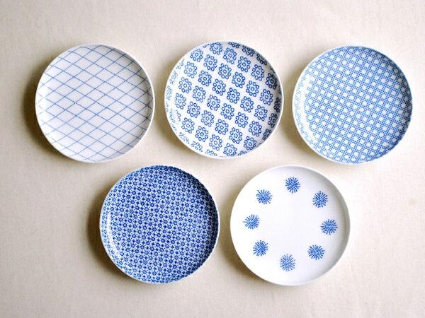 東屋(あづまや) 印判 小皿