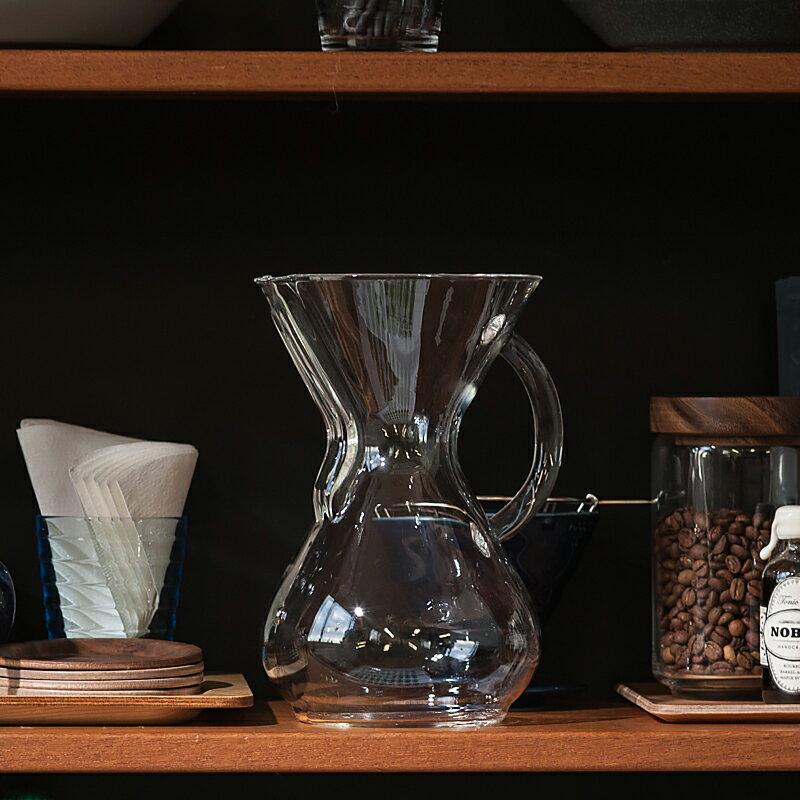 【送料無料】CHEMEX Glasshandle Coffee Maker 6 Cup CM-6GH(ケメックス ガラスハンドル コーヒーメーカー 6カップ)