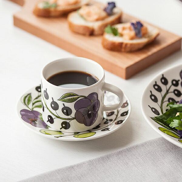 ARABIA Paratiisi Purple コーヒー カップ&ソーサー (アラビア パラティッシ パープル)