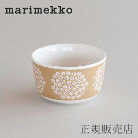 マリメッコ ボウル 9cm(marimekko)プケッティ ベージュ