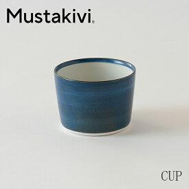 砥部焼カップ GOSU M (ムスタキビ/MUSTAKIVI)