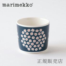 マリメッコ ラテマグ(marimekko)プケッティ ネイビー
