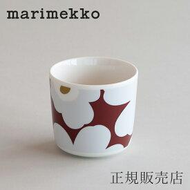 マリメッコ ラテマグ(marimekko)ウニッコ ホワイトレッド×グレー