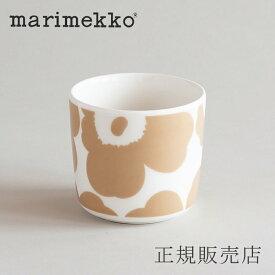 マリメッコ ラテマグ ウニッコ ホワイト×ベージュ(marimekko)