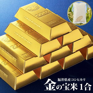 福井県産コシヒカリ金の宝米1合