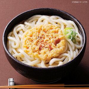 讃岐うどん きつね ・ 天ぷら 4食セット 【グルメ現物】