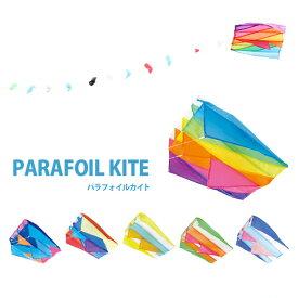 コンパクトサイズでカラフルな凧 パラフォイルカイト