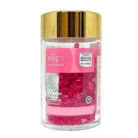 【国内正規品】 エリップス ヘアビタミン ヘアトリートメント ピンク 50粒 ボトルタイプ [ ヘアー ヘアオイル ヘアマスク ヘアケア 洗い流さないトリートメント ellips TREATMENT ]