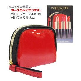 ■最大2000円OFFクーポン配布中■ エスティローダー オリジナルポーチ コスメポーチ 化粧ポーチ #レッド 赤 ESTEE LAUDER