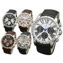 【あす楽 送料無料】 サルバトーレマーラ メンズ 腕時計 10気圧防水 SM15103 SSWH SSBK PGWH PGBK PGSV 全5色 クロノ…
