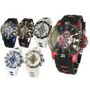 【送料無料】サルバトーレマーラ メンズ腕時計 SM15109 BKRD BKBL PGBK WHBK WHBL PGWH 全6色 クロノグラフ【Salvatore Marra】 [受注発注の為 キャン