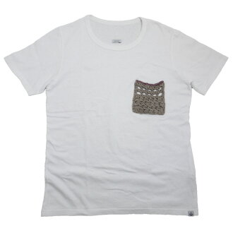 "VISVIM ビズビム 2013AW ""CROCHET POCKET TEE *F.I.L. EXCLUSIVE"" T-shirt / cut-and-sew"