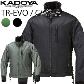 KADOYA カドヤ ウィンタージャケット TR-EVO/CW2-A ワッペン付モデル バイク用防寒着 送料込み あす楽対応
