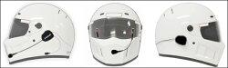 【Kemeko】【Bluetooth】ヘルメット用ステレオハイファイヘッドセットKR02インカム機能無しタイプ【RCP】【あす楽対応】