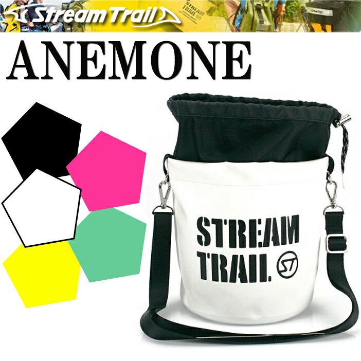STREAMTRAIL ストリームトレイル ANEMONE アネモネ 巾着式ショルダーバッグ 【あす楽対応】