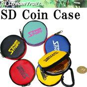 ストリームトレイルSDコインケースターポリン生地樹脂製カラビナ付属
