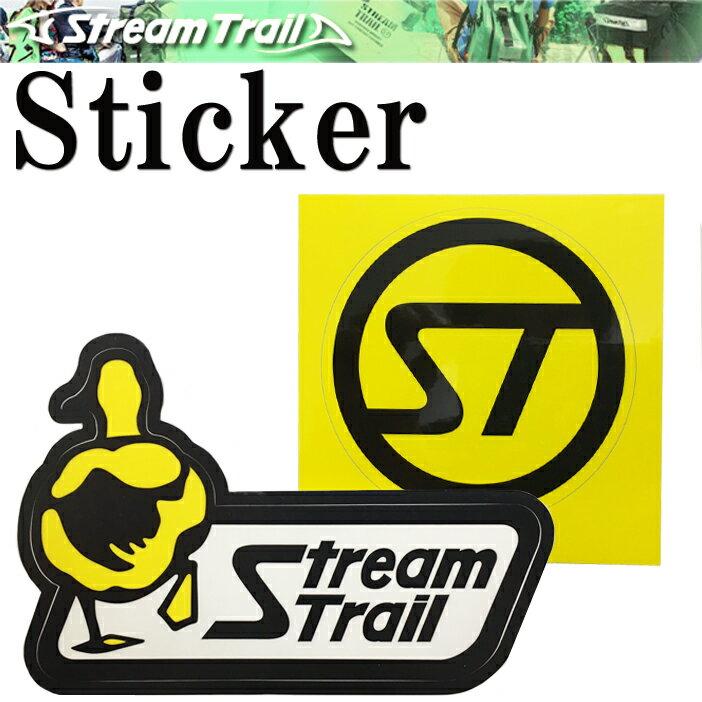 【ゆうパケット対応】STREAMTRAIL ストリームトレイル オリジナルロゴステッカー 【あす楽対応】