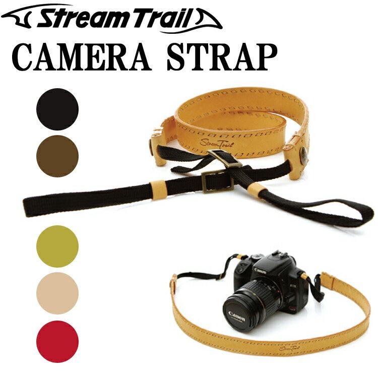 STREAMTRAIL ストリームトレイル CAMERA STRAP一眼レフカメラ用カメラ用本革ストラップ あす楽対応