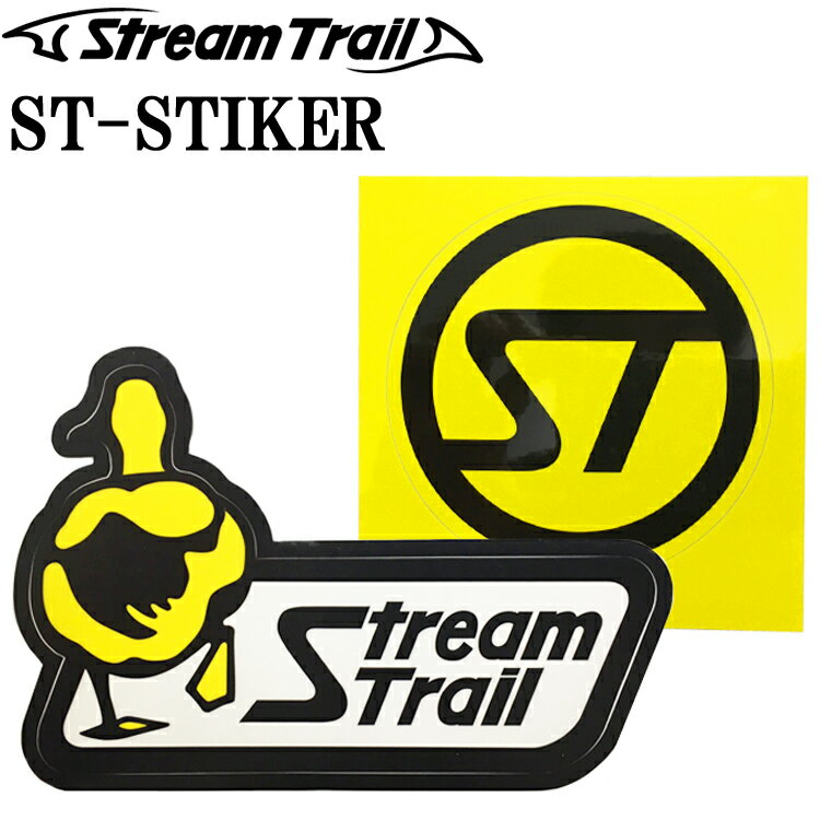 ゆうパケット対応 STREAMTRAIL ストリームトレイル オリジナルロゴステッカー あす楽対応