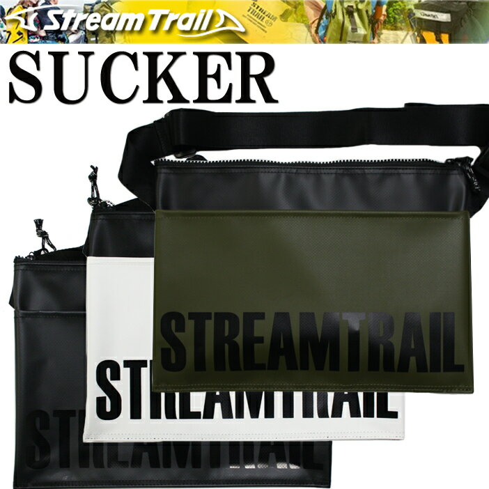 STREAMTRAIL ストリームトレイル SUCKER サッカー サコッシュタイプショルダーバッグ 【あす楽対応】