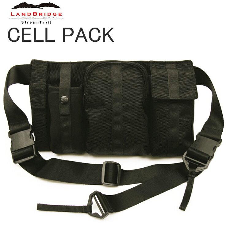 LANDBRIDGE ランドブリッジ セルパック Cell Pack コンパクトショルダーバッグ ストリームトレイル 条件付き送料無料 あす楽対応