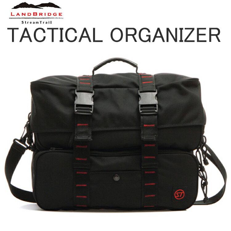 LANDBRIDGE ランドブリッジ タクティカルオーガナイザー Tactical Organizer 3Wayオーガナイザーバッグ ストリームトレイル 条件付き送料無料 あす楽対応