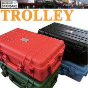 【高強度耐水性キャリーバッグ】アッパーウエストキャスター付きトローリートラベルケース
