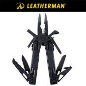 【LEATHERMAN】レザーマンOHTBLACK831639ナイフ・ドライバー等16のツールが一つになったマルチツール【正規輸入品メーカー25年保証付】【あす楽対応】