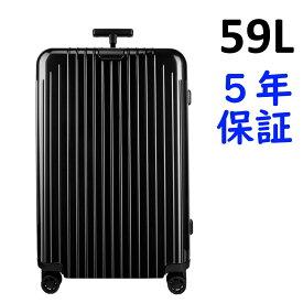 リモワ エッセンシャルライト 4輪 59L チェックイン M 823.63.62.4 ブラック RIMOWA Essential Lite Check-in M スーツケース リモア