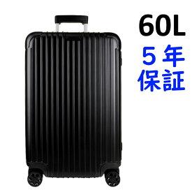 リモワ エッセンシャル 4輪 60L チェックイン M 832.63.63.4 ブラック つやなし RIMOWA Essential Check-in M スーツケース リモア