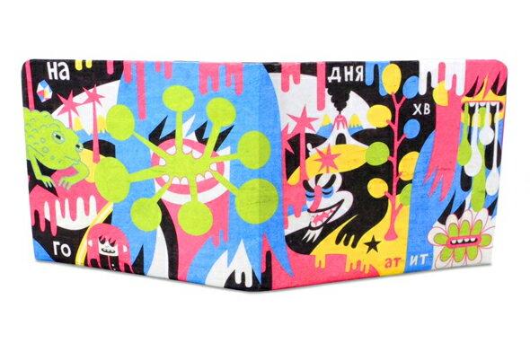 Paperwallet ペーパーウォレット Tyvek (タイベック) 製 財布 アーティストコラボ Series2 009 Klonek