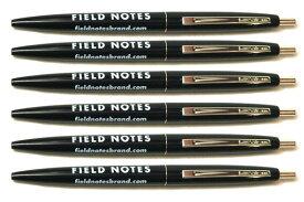 FIELD NOTES (フィールドノート) Clic Pen 6-Pack ボールペン ノック式 【6本セット】