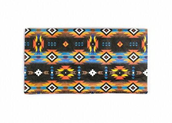 Paperwallet (ペーパーウォレット) Clutch (長財布) Tyvek (タイベック) 製 FEM007TRB 【Tribal Tyvek】